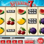 Spinning 7s Online Slot Game Keeps It Old School